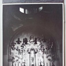 Fotografía antigua: 1969 - FOTO ORIGINAL- ALTAR - IGLESIA - SANTUARIO MONASTERIO DE LLUC - MALLORCA - ISLAS BALEARES. Lote 50792394