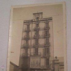 Fotografia antica: ANTIGUA FOTOGRAFIA EDIFICIO EN CARRER ARAGO,396.BARCELONA 1925.. Lote 51053660