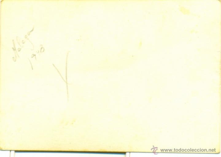 Fotografía antigua: MALAGA, 1948, ESCENA DE PLAYA, PRECIOSA, 100X70MM - Foto 2 - 51331306