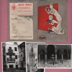 Fotografía antigua: LOTE DE FOTOGRAFIAS - DE FOTOGRAFO TORRES DE BARCELONA RONDA SAN PEDRO,42 VIAJE A SEVILLA -. Lote 51397750