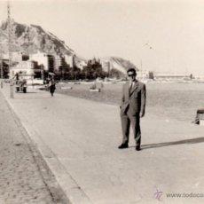Fotografía antigua: ALICANTE 1957, FOTOGRAFIA ANTIGUA PUERTO, 95X68 MM. Lote 51468025