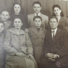 Fotografía antigua: ANTIGUA FOTOGRAFIA FAMILIAR ESTUDIO LOPEZ PALMA DE MALLORCA. Lote 51981424