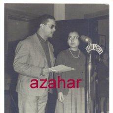 Photographie ancienne: SEVILLA, 1961, CONCURSO RADIOFONICO DE RADIO SEVILLA,115X175MM. Lote 52028495