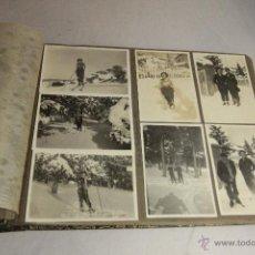 Fotografía antigua: ALBUM DE FOTOS AÑOS 20-30, FOTOS DE FRANCIA, CATALUÑA... VIAJES. 80 APROX. EXCELENTE ESTADO. . Lote 52165864