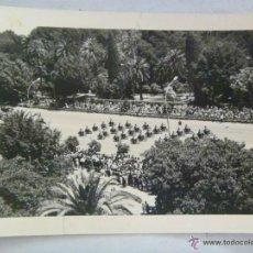 Fotografía antigua: DESFILE DE LA VICTORIA , SEVILLA 1967 : MOTORISTA DE LA POLICIA ARMADA. Lote 52323035