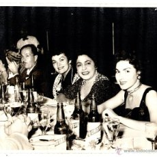 Fotografía antigua: FOTOGRAFIA. HABANA. CUBA. ESTHER BORJA. CANTANTE CUBANA. FOTO FLASH TANIA. 25 X 20CM. Lote 52496960