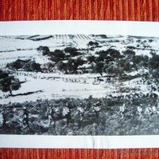 Fotografía antigua: 1939-TARRAGONA. GUERRA CIVIL ESPAÑA. FRANCO. FOTO ORIGINAL. GRANDE 26X18 CM. Lote 52586755