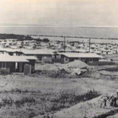 Fotografía antigua: CUBA. NUEVAS VIVIENDAS CONSTRUIDAS POR EL GOBIERNO REVOLUCIONARIO.22,3 X 29 CM. Lote 52707070