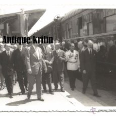Fotografía antigua - ESTACION DE TARRAGONA .- 1956 INAGURACION DE LA ELECTRIFICACION DE LA LINEA TARRAGONA - BARCELONA - 52909032