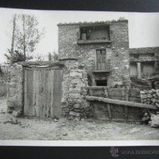 Fotografía antigua: ANTIGUA FOTOGRAFÍA LOS HUERTOS DE MOYA. CUENCA, 1951. MEDIDAS: 18 X 13 CM. FOTÓGRAFO ARIEL. . Lote 52965139