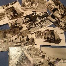 Fotografía antigua: PRECIOSO LOTE DE FOTOGRAFÍAS DE UNA FAMILIA ALEMANA DE CAMPING EN AUSTRIA. Lote 53073845