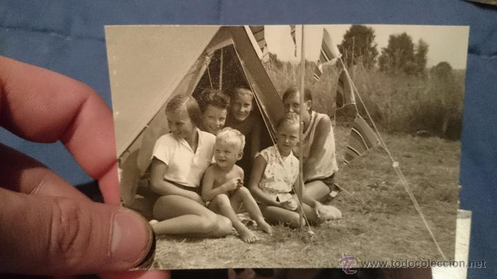 Fotografía antigua: PRECIOSO LOTE DE FOTOGRAFÍAS DE UNA FAMILIA ALEMANA DE CAMPING EN AUSTRIA - Foto 4 - 53073845