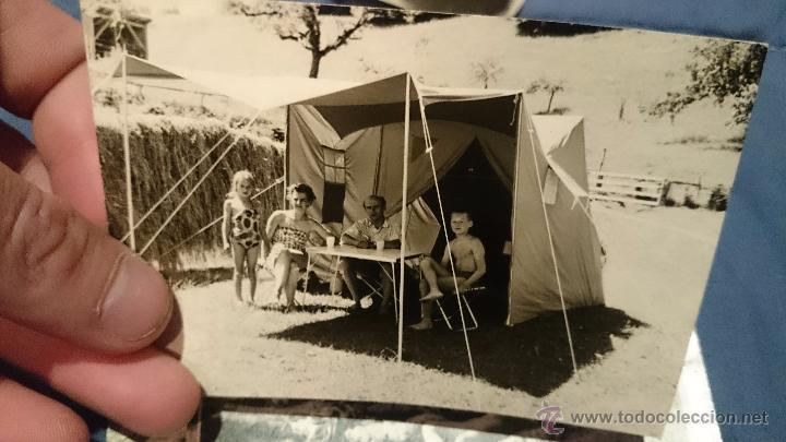 Fotografía antigua: PRECIOSO LOTE DE FOTOGRAFÍAS DE UNA FAMILIA ALEMANA DE CAMPING EN AUSTRIA - Foto 6 - 53073845