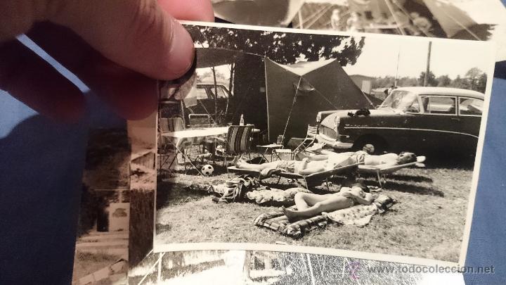Fotografía antigua: PRECIOSO LOTE DE FOTOGRAFÍAS DE UNA FAMILIA ALEMANA DE CAMPING EN AUSTRIA - Foto 7 - 53073845