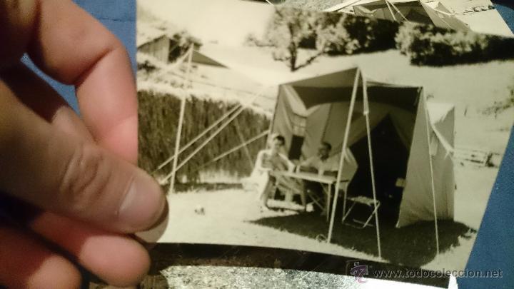 Fotografía antigua: PRECIOSO LOTE DE FOTOGRAFÍAS DE UNA FAMILIA ALEMANA DE CAMPING EN AUSTRIA - Foto 8 - 53073845