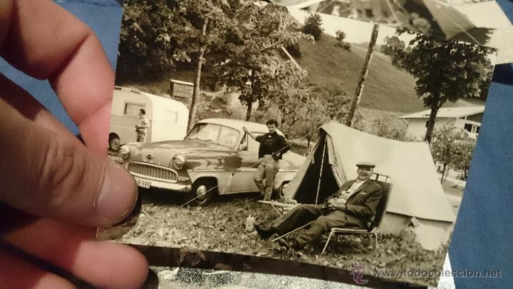 Fotografía antigua: PRECIOSO LOTE DE FOTOGRAFÍAS DE UNA FAMILIA ALEMANA DE CAMPING EN AUSTRIA - Foto 9 - 53073845
