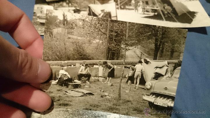 Fotografía antigua: PRECIOSO LOTE DE FOTOGRAFÍAS DE UNA FAMILIA ALEMANA DE CAMPING EN AUSTRIA - Foto 10 - 53073845