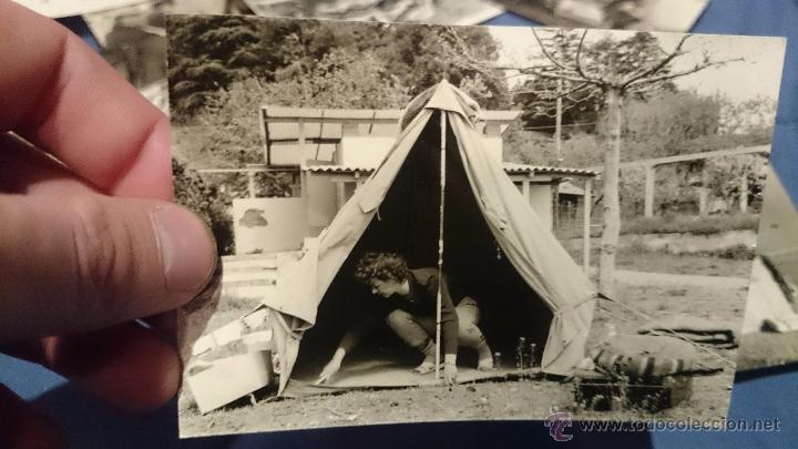 Fotografía antigua: PRECIOSO LOTE DE FOTOGRAFÍAS DE UNA FAMILIA ALEMANA DE CAMPING EN AUSTRIA - Foto 12 - 53073845