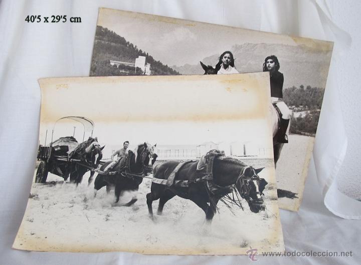 LOTE DE DOS FOTOGRAFIAS 1970 CONCURSO PLA DE BONAIRE TARRASA BARCELONA (Fotografía Antigua - Fotomecánica)