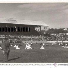 Fotografía antigua: TARRAGONA .- AÑO MARIANO 1954 .- CAMPO FUTBOL DEL GIMNASTIC ACTO DE FINALIZACION. Lote 53227508