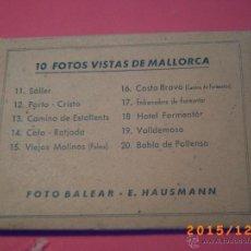 Fotografia antica: 10 FOTOS VISTAS DE MALLORCA - FOTO BALEAR - E. HAUSMANN - VER FOTOS ADJUNTAS. Lote 53248048