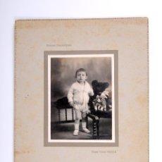 Fotografía antigua: ANTIGUA FOTOGRAFIA OBSEQUIO DE SOCIEDAD NESTLE LA LECHERA NIÑO. Lote 53255446