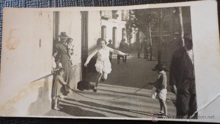 Antigua Fotografia De Ninos Jugando A La Comba Comprar Fotografia