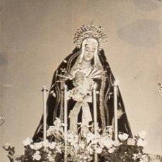 Fotografía antigua: FOTOGRAFIA ANTIGUA VIRGEN DESCONOCIDA - SEMANA SANTA . Lote 54010961