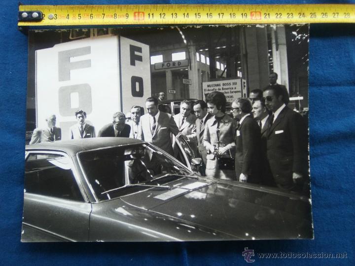 Fotografía antigua: FOTO ORIGINAL PRINCIPES JUAN CARLOS Y SOFIA - Foto 2 - 54064054