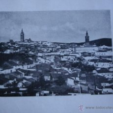 Fotografía antigua: FOTO GARRORENA AÑO 1922.11X8. BADAJOZ. JEREZ DE LOS CABALLEROS. Lote 54070249