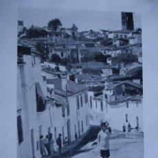 Fotografía antigua: FOTO GARRORENA AÑO 1922.11X8. BADAJOZ. JEREZ DE LOS CABALLEROS. Lote 54070255