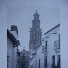 Fotografía antigua: FOTO GARRORENA AÑO 1922.11X8. BADAJOZ. JEREZ DE LOS CABALLEROS. Lote 54070262