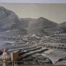 Fotografía antigua: BENIARRÉS GRAN FOTOGRAFIA, SOBRE MADERA, MUY GRANDE, 150X90CM, ÚNICA. Lote 54088370