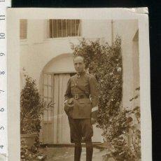 Fotografía antigua: FOTOGRAFIA MILITAR, SARGENTO DE INGENIEROS EPOCA DE ALFONSO XIII. Lote 54302679