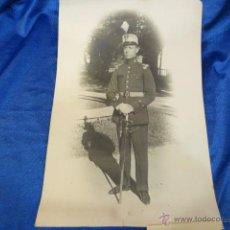Fotografía antigua: FOTOGRAFÍA DE ARTURO ALEMÁN VILLALON MUERTO EN COMBATE EN 1927. Lote 54882256