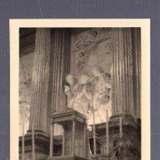 Fotografía antigua: ANTIGUA FOTOGRAFIA. COLEGIATA DE VILLAGARCIA. 11 X 8CM.. Lote 54919633