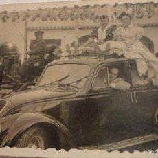 Fotografía antigua: ANTIGUA FOTOGRAFIA.FERIA DE ABRIL.SEVILLA.1955.. Lote 55223962