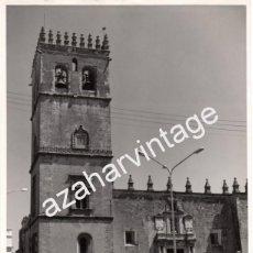 Fotografía antigua: BADAJOZ, ESPECTACULAR FOTOGRAFIA DE LA CATEDRAL, FOT.EMILIO,180X240MM. Lote 55406448