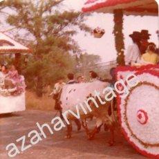 Fotografía antigua: DOS HERMANAS, ANTIGUA FOTOGRAFIA ROMERIA DE VALME,88X126MM. Lote 55566087