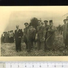 Fotografía antigua: FOTOGRAFIA ACTO MILITAR CON REPRESENTACION POSIBLEMENTE DE MARRUECOS. Lote 56024471