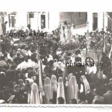 Fotografía antigua: TARRAGONA .- AÑO MARIANO 1954 .- CALLES SAN FRANCISCO ESQUINA RAMBLA VELLA. Lote 56110563