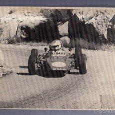Fotografía antigua: FOTO. CARRERA AUTOMOVILISTICA. 1974. MEDIDAS: 24 X 18CM. FOTO A.IBAÑEZ. Lote 56195643