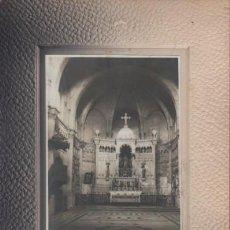 Fotografía antigua: FOTOGRAFIA CARTON DURO - DE UNA IGLESIA ? NO PONE FOTOGRAFO. Lote 56356830