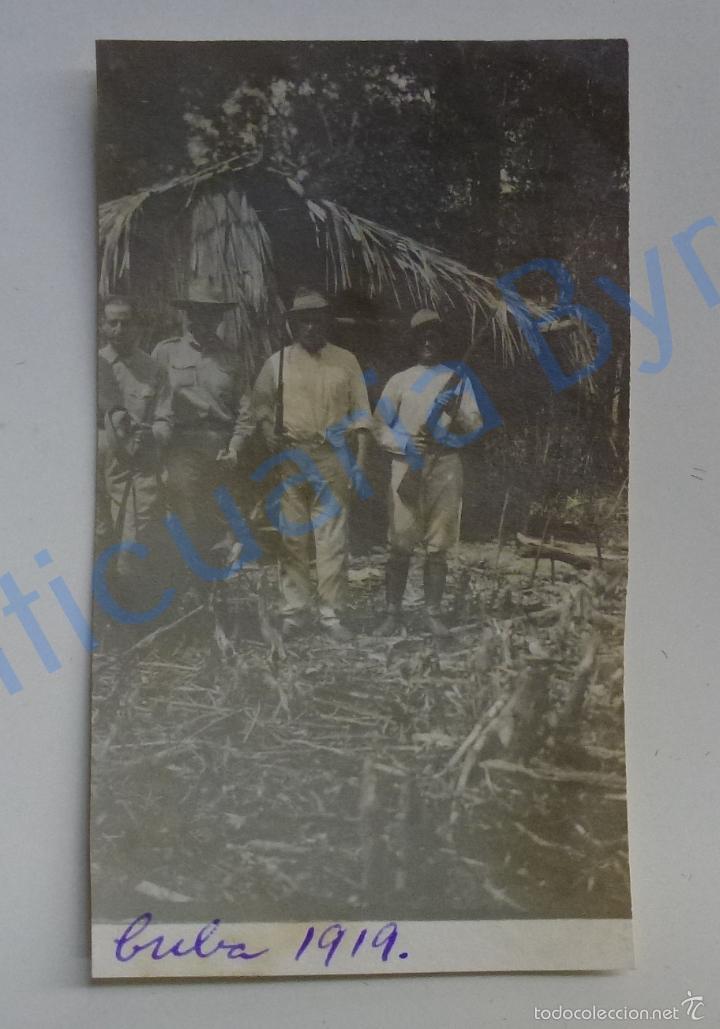 FOTOGRAFÍA ANTIGUA ORIGINAL. CUBA. 1919 (10 X 6 CM) (Fotografía Antigua - Fotomecánica)