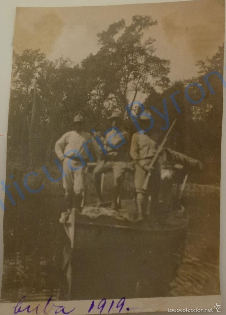FOTOGRAFÍA ANTIGUA ORIGINAL. CUBA. 1919 (10 X 7 CM) (Fotografía Antigua - Fotomecánica)