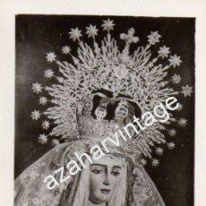 Fotografía antigua: HUELVA,1953, LA VIRGEN DE LA ESPERANZA,65X90MM. Lote 56619664