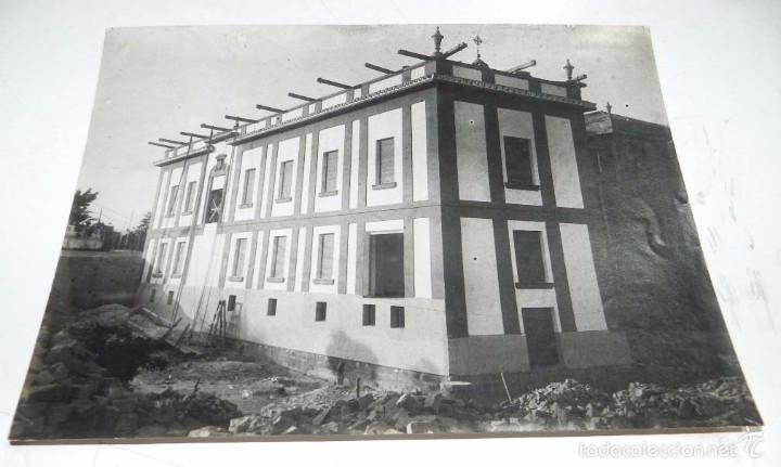 FOTOGRAFIA DE EL HOSPITAL DE LA CRUZ ROJA DE CORDOBA, OBRAS DE CONSTRUCCION, FOTOGRAFIA SANTOS, MIDE (Fotografía Antigua - Fotomecánica)