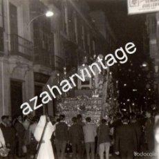 Fotografía antigua: SEMANA SANTA DE SEVILLA, ANTIGUA FOTOGRAFIA TRASERA PASO CRISTO LA BOFETA ,105X75MM. Lote 56745421