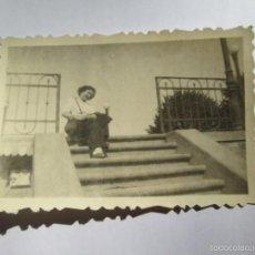 Fotografía antigua: MUJER WOMAN FEMME. Lote 56906844
