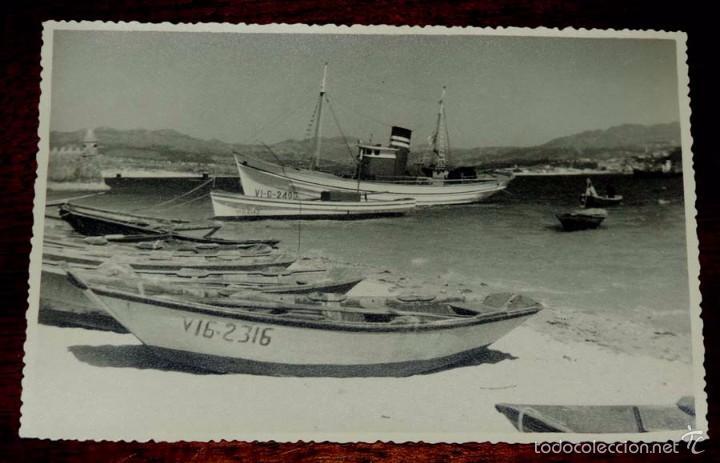 FOTOGRAFIA DE BAYONA, VIGO (PONTEVEDRA) MIDE 18 X 11,7 CMS. (Fotografía Antigua - Fotomecánica)